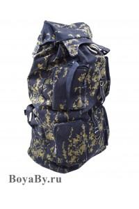 Рюкзак большой черный камуфляж