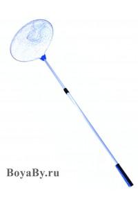 Подсак круглый плетеный (голубой) малый