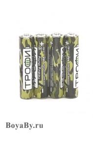 Батарейка мизинчиковая ААА (солевая), 60 шт/упаковка