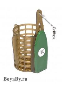 Кормушка фидерная со съёмным грузом 30 g