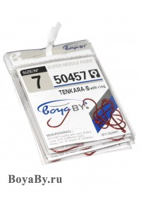 Крючок 50457 (красный) / цена за упаковку