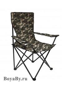 Кресло в чехле камуфляж