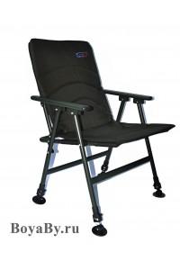 Кресло карповое с подлокотниками, регулировка, NO 032